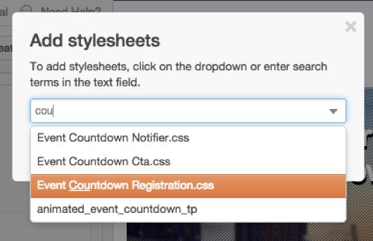 Set Up Hubspot Template Stylesheet
